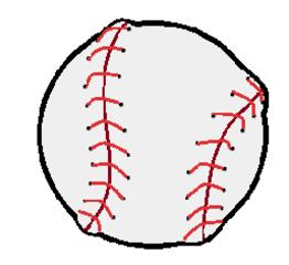 Baseball, Softball - Baseball, Softball, Wurfball, Ball, Sport, spielen, Spielzeug
