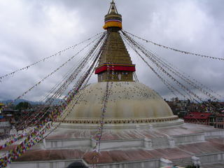 Stupa in Bodanath/ Kathmandu - Buddhismus, Stupa, Buddha, Nepal, Kathmandu, Bodanath