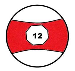 Billardball, Billardkugel - Billardball, Billardkugel, Holz, bunt, Ball, Sport, spielen, Spielzeug, Kugel, Körper, Oberfläche, Volumen, Mathematik, Poolbillard, Objektball