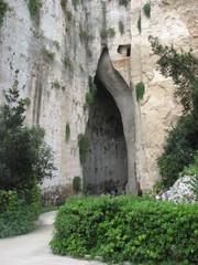 Syrakus - das Ohr des Dionysos # 2 - Höhle, Stein, Archäologie, Sizilien, Syrakus, L'Orecchio di Dionisio