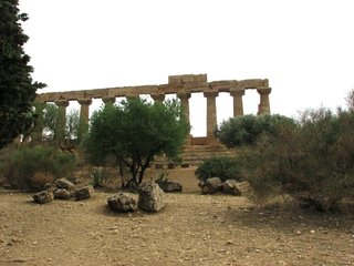 Agrigent - Junotempel - Sizilien, Agrigent, griechisch, Tempel, Archäologie