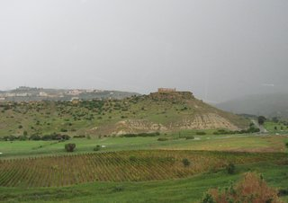 Agrigent - Blick auf Concordiatempel von Süden - Sizilien, Agrigent, Tempel, römisch, Archäologie