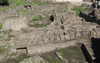 Lipari - Ausgrabungen im Castello - Ausgrabungen, Antike, griechisch, Mykene