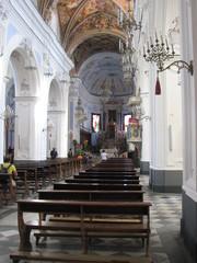 Lipari - Kirche San Bartolomeo - Kirche, Kirchenraum, Kirchenschiff