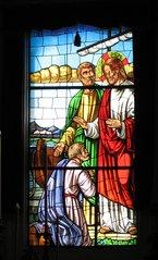 San Bartolomeo, Lipari - Kirchenfenster - Kirchenfenster, Brauchtum, Kirche
