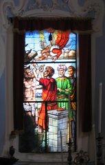 San Bartolomeo, Lipari - Kirchenfenster - Kirchenfenster, Kirche, Brauchtum