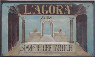 Ladenschild aus Keramik italienisch - Schild, Ladenschild, Keramik, italienisch, Glasur
