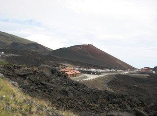Ätna, Rifugio Sapienzia - Ätna, Vulkan, Lavastrom, Vulkanismus