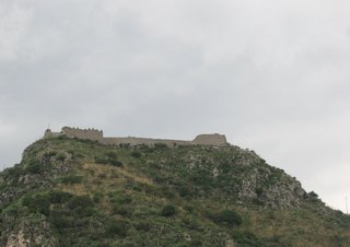 Taormina, Castello Saraceno - Ruine, Schloss, Burg, Sarazenen, Sizilien, Taormina, verfallen