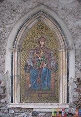 Taormina - Madonnenmosaik - Mosaik, Madonna, Taormina, Sizilien