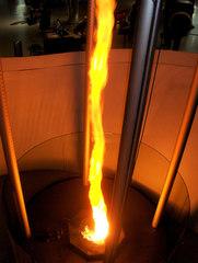 Feuertornado #2 - Tornado, Feuer, Feuertornado, Phänomen, Wirbel, Wetter, Natur, Säule, Luftstrom, Experiment, Windhose, Strömung, Verbrennung, Wärmeströmung, Sauerstoff, Chemie