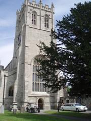 Christchurch Priory Kirche + Trauung - England, Süden, Christchurch, Kirche, Hochzeit, Oldtimer, Gotik
