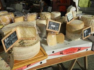 fromages - fromage, Käse, Stand, Schaf, brebis, Ziege, chèvre