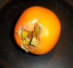 Kaki, Sharonfrucht - Kaki, Sharonfrucht, Ebenholzgewächs, Kulturpflanze, Obst, Baum, Frucht, süß, orange, Honigapfel, Persimone, Früchte, Frucht des Zeus, zweikeimblättrig, Beta-Carotin