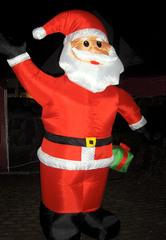 Weihnachtsmann  - Weihnachtsmann, Santa Claus, Santa Clause, aufblasbar, Weihnachten, Weihnachtsmarkt, groß, rot