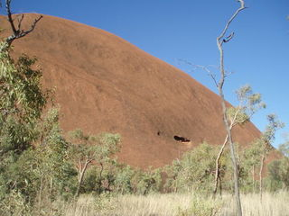 Uluru - Uluru, Ayers Rock, Australien, Australia, Aborigines, Aboriginal People