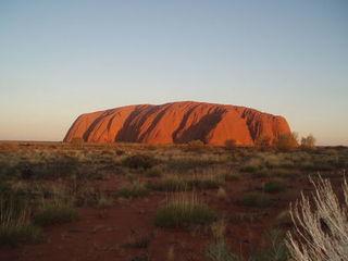Uluru - Uluru, Ayers Rock, Australien, Australia, Aborigines, Aboriginal People, Sehenswürdigkeiten, Outback