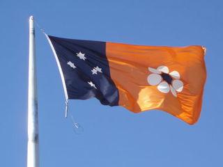 Flagge des Northern Territory (Australien) - Flagge, Northern Territory, Australien, Aborigines, Aboriginal People