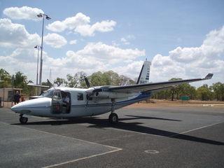 Postflugzeug - Australien, Postflugzeug, Mailplane, Outback