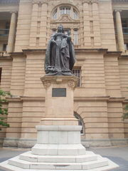 Queen Victoria-Denkmal in Australien - Victoria, Queen Victoria, Australia, Kolonien, Colonialism, Commonwealth, Britisches Reich, British Empire