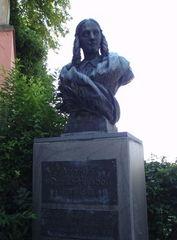 Annette von Droste-Hülshoff - Denkmal - Annette von Droste-Hülshoff, Meersburg, Droste-Hülshoff, Neunzehntes Jahrhundert, Biedermeier