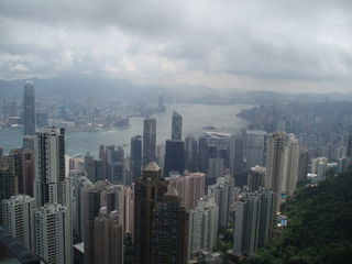Hong Kong - Victoria Peak - Hong Kong, China, Skyline, Ausblick