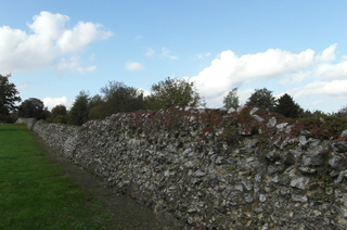 Römische Stadtmauer in Tongeren - Römische Mauer, Römische Stadtmauer, Römisches Reich, Belgien, Römer