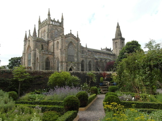 Robert the Bruce - Dunfermline Abbey - Robert the Bruce, Schottland, Scotland, King, König, Abbey, Abtei, Ruine