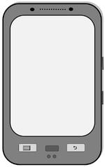 Smartphone - Smartphone, Telefon, Handy, mobile phone, telefonieren, surfen, Internet, SMS, MMS, schreiben, Kommunikation, Zeichnung