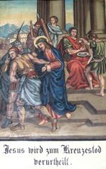 Kreuzweg I - Religion, Kreuzweg, Bilderzyklus, Andacht, Jesus, Kreuz, katholisch, Station, Kreuzwegstation, Leidensweg, Passion