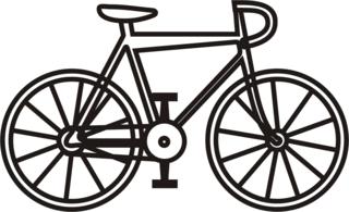 Fahrrad - Fahrrad, fahren, Straße, Rad, Anlaut F