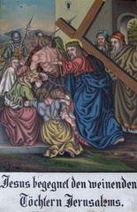 Kreuzweg VIII - Religion, Kreuzweg, Bilderzyklus, Andacht, Jesus, Kreuz, katholisch, Station, Kreuzwegstation, Leidensweg, Passion