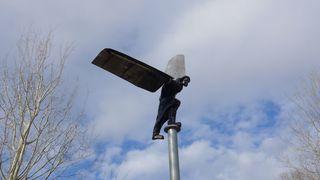 Ikarus - Ikarus, modern, moderne Skulptur, fliegen