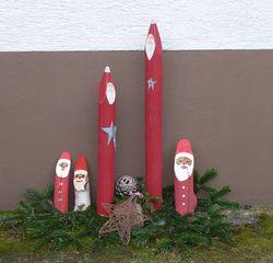 Weihnachstdekoration - Weihnachten, Weihnachtsdekoration, Holzstäbe