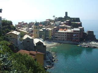 Vernazza - Cinque Terre, Vernazza, Italien, Ligurien, Küste