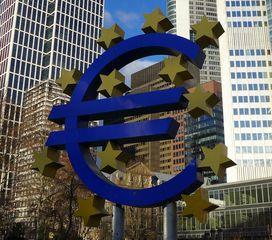 Eurosymbol - Euro, EZB, Europäische Zentralbank, Frankfurt/M, Eurozeichen, Eurosymbol