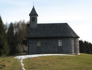 Kirche - Kirche, Kapelle, Wetterschutz, Verwitterung, Lärche, Lärchenholz, chemischer Prozess, Lignin