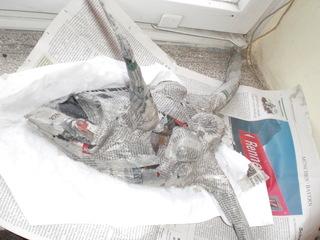 Masken - Pappmaschee – ein Werkstoff aus Papier und Bindemittel - Kaschiertechnik, Kasche, Pappmache, Pappmaché, Pappmaschee, Zeitungspapier, Masken, Kleister, Relief