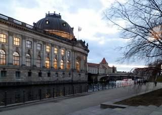 Museumsinsel - Berlin, Museum, Neobarock, Bodemuseum, Museumsinsel, Kultur, Sehenswürdigkeit, Spree, Baustil