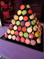 Macarons - civilisation, macaron, bunt, Pyramide, spécialité, Farben