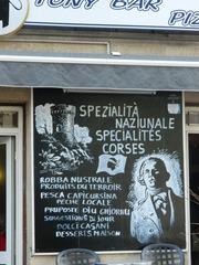 Spécialités corses - civilisation, Corse, restaurant, spécialité, korsisch, französisch, menu
