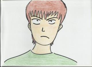 Bild für das Gefühl wütend - Gefühl, Gefühlsausdruck, Gesichtsausdruck, Emotion, Empfindung, Stimmung, Gespür, empfinden, Gemütsbewegung, wütend, sauer, aggressiv, angry, Bild, Gefühl