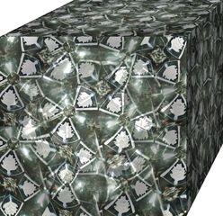 Kaleidoskop #6 Würfel - Kaleidoskop, Muster, Formen, Optik, optisch, bunt, Symmetrie, symmetrisch, Glas, Spiegel, Würfel, experimentieren