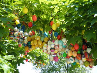 Ostereierbaum#5 - Ostern, Brauchtum, Sehenswürdigkeiten, Kurioses, Osterschmuck, Tradition