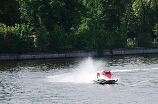 Formel 1 Powerboat - Wassersport, speed, Speedboat, Boot, Geschwindigkeit, Wasser, nass, Motorboot, Race, racing, Motorbootsport, Rennboot, Rennen, speedboot, Wasserfahrzeug, Fahrzeug, fahren, schwimmen