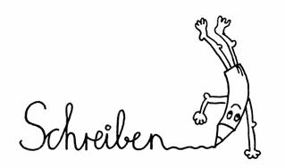 Bleistiftmännchen - Schreiben - Bleistift, Bleistiftmännchen, Gesicht, Männchen, Stift, spitz, spitzen, witzig, fröhlich, schreiben, Kopfstand, Symbolkarte, Illustration