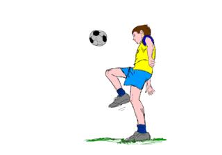 Fußballspieler - Fußball, Spieler, jonglieren, spielen, Fußballspieler, Mannschaftssport, Ball, Ballspiel, Meisterschaftssport, WM, EM, Champion, schießen, Ballannahme, Sport