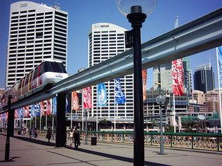 Monorail - Australien, Sydney, Darling Harbour, Verkehr, monorail