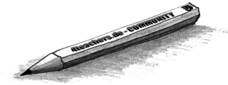 Bleistift - Büro, Bleistift, Schreibwaren, just4tea, schreiben, Stift, Schatten, Clipart