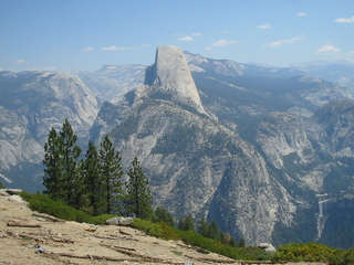 Half Dome im Yosemite-Nationalpark - Kalifornien, Yosemite-Nationalpark, Granit, Half Dome